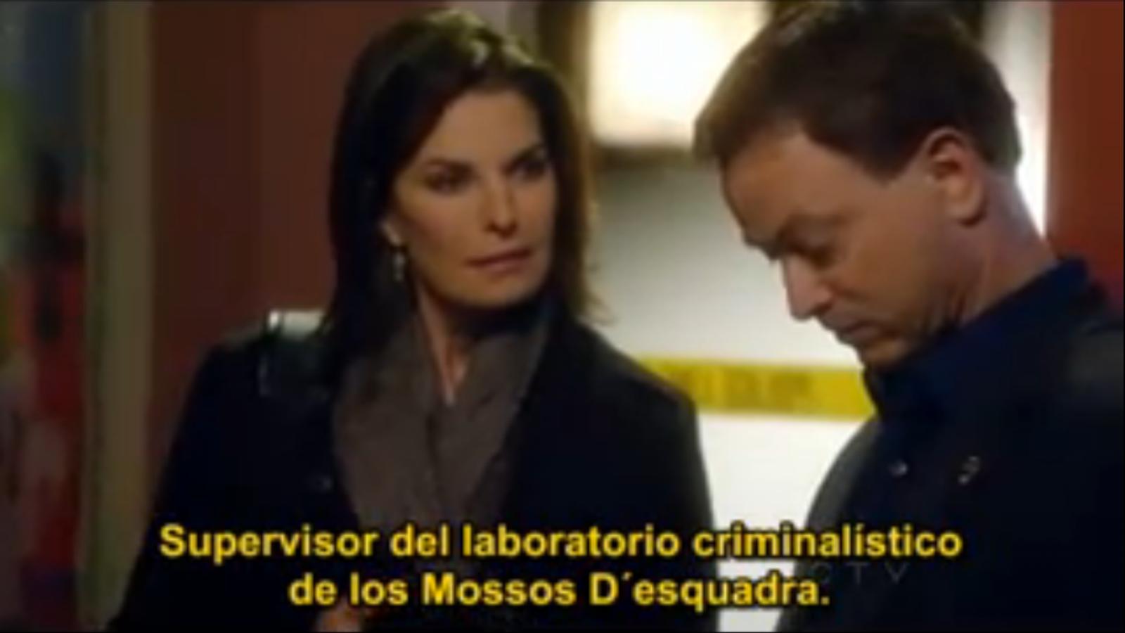 Els Mossos, personatges a 'CSI Nova York'