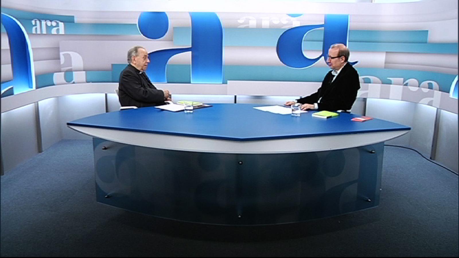 Entrevista d'Antoni Bassas a Juan María Uriarte, per l''Ara TV Premium'
