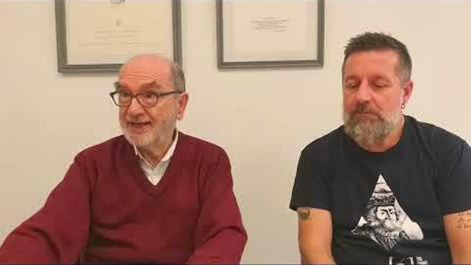 Entrevita a Josep Grimalt i Jaume Guiscafrè
