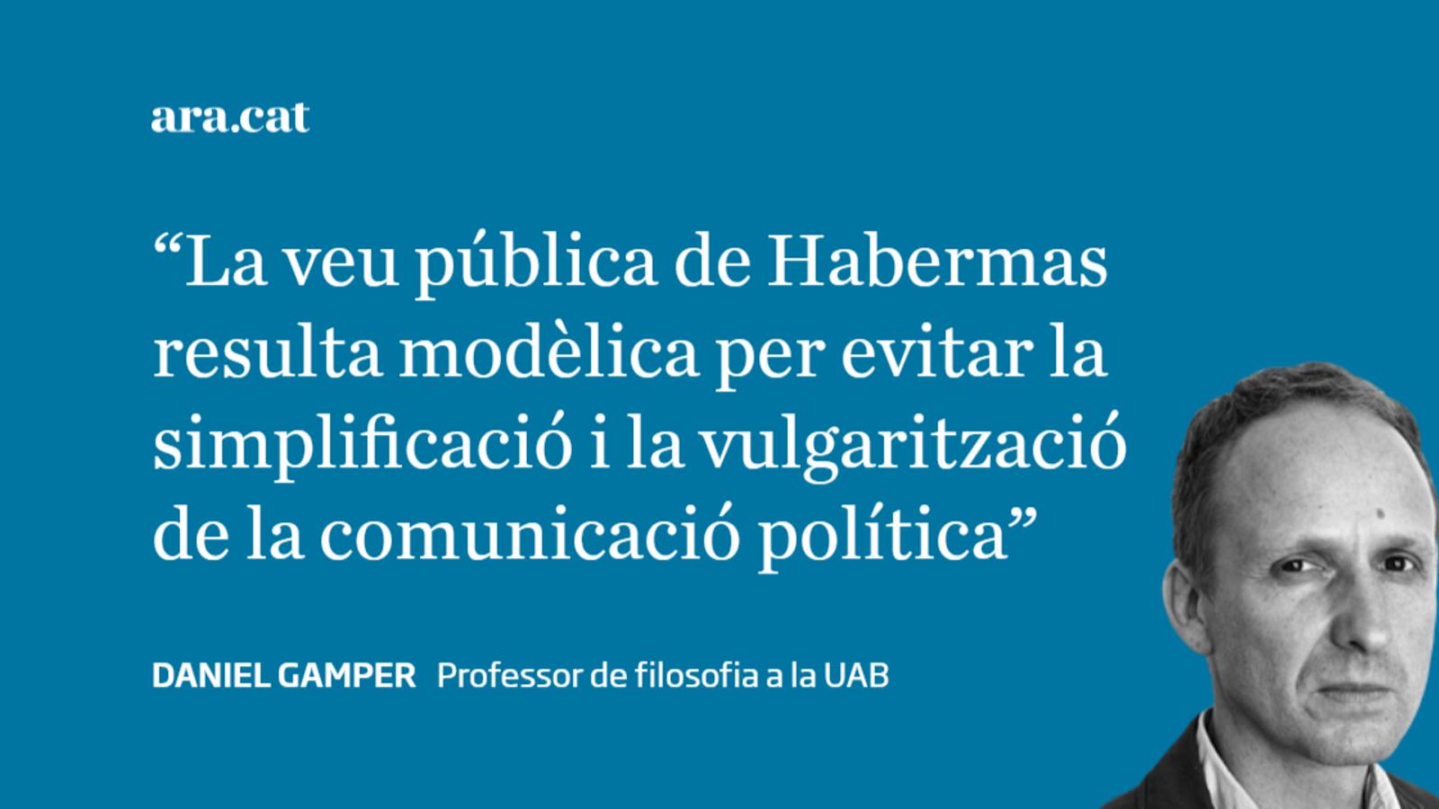 En el norantè aniversari de Jürgen Habermas