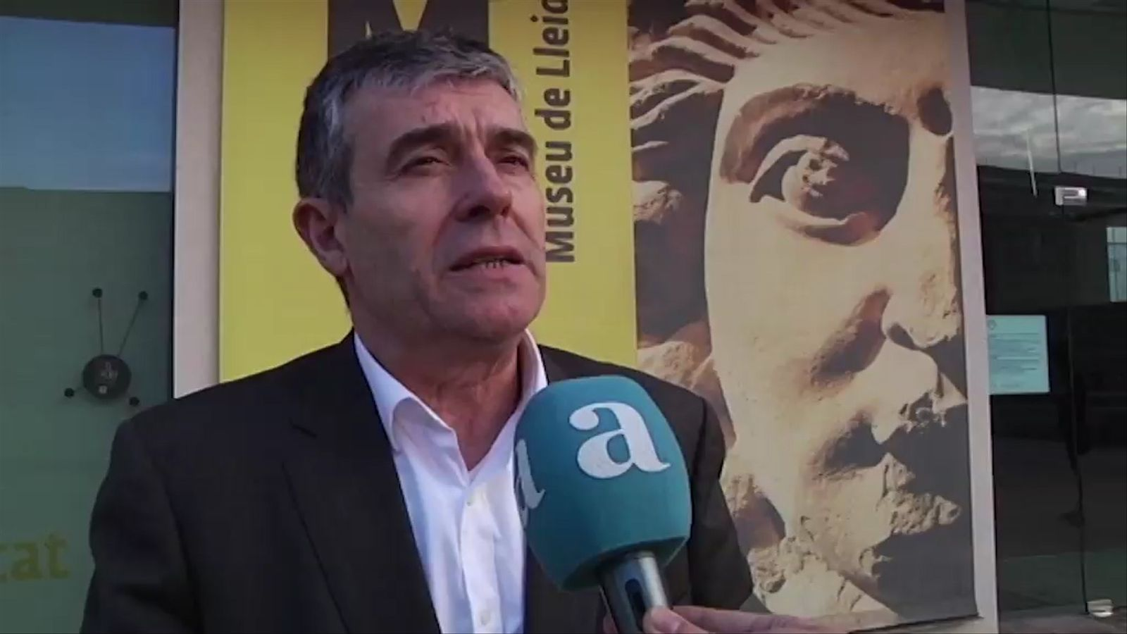 El director del Museu de Lleida explica a l'ARA què s'ha notificat al jutjat d'Osca