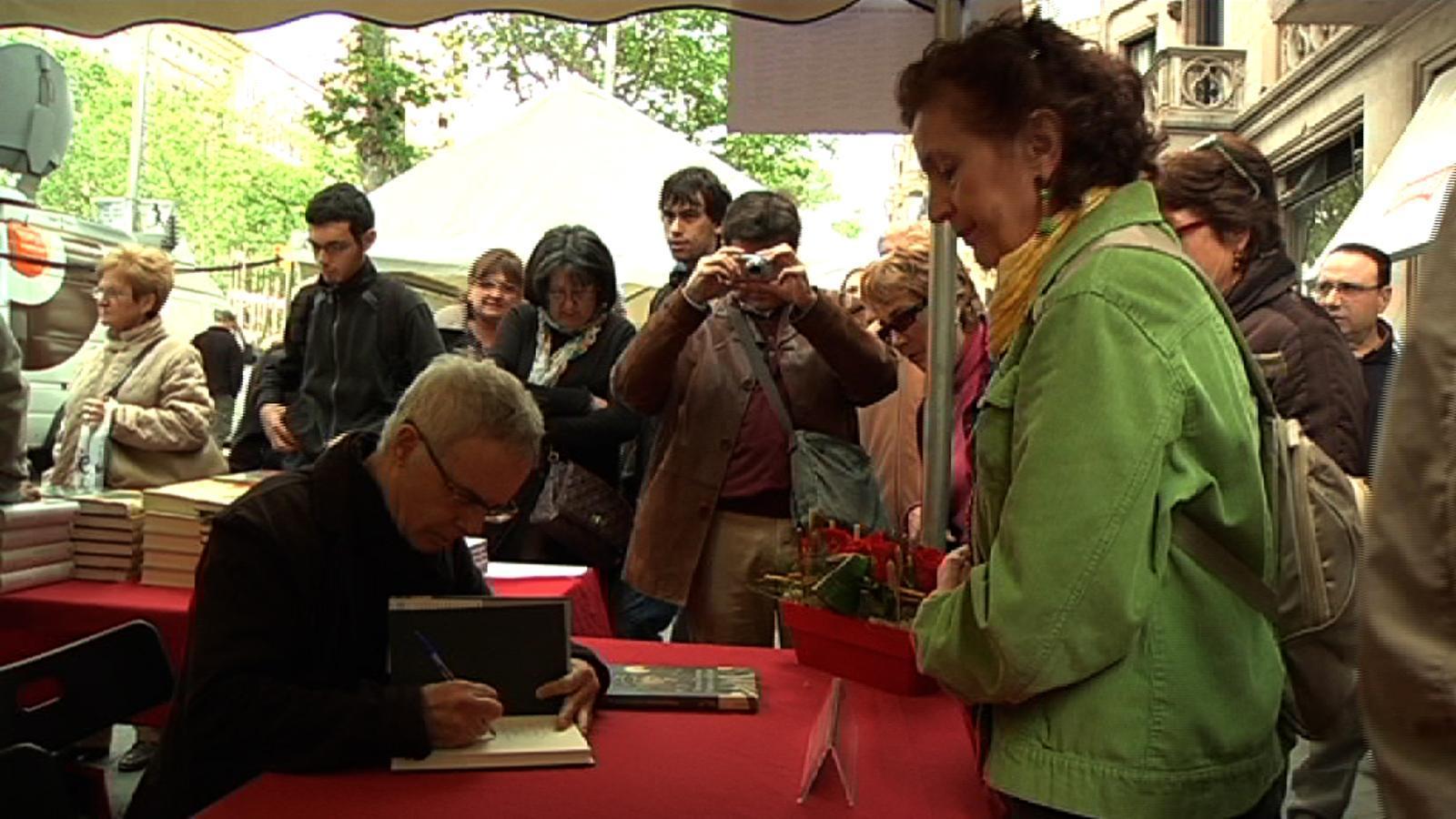 Ferran Torrent: Prefereixo regalar llibres que roses. Això de l'amor és una horterada