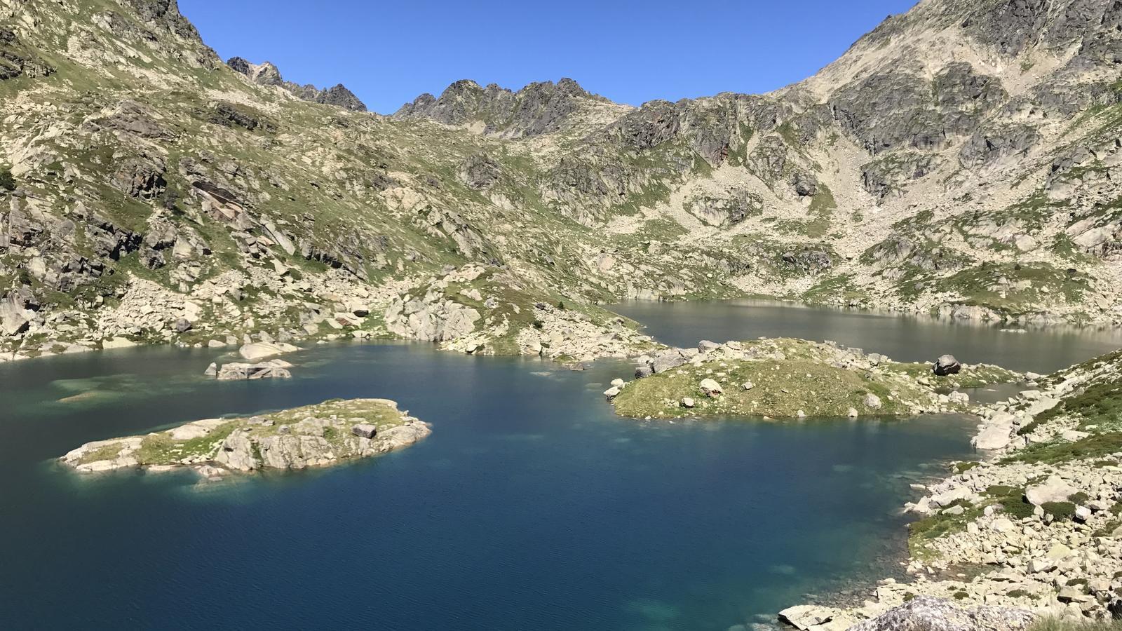 L'estany del Juclà. / A