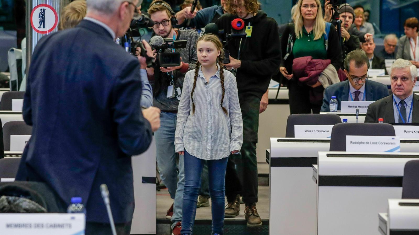 """Greta Thunberg als líders de la UE: """"Esteu actuant com nens mimats i irresponsables"""""""