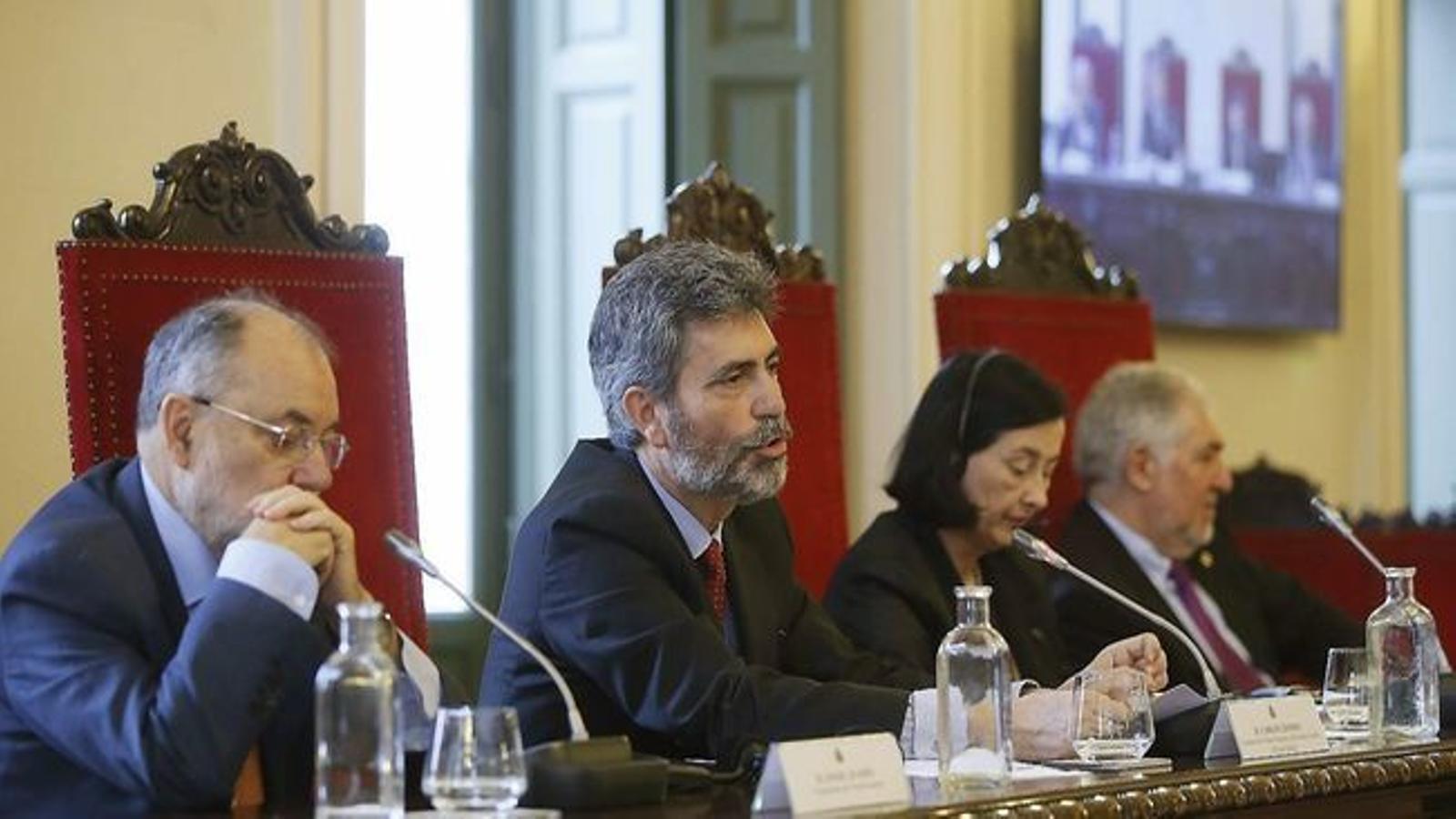 """Torra reclama """"sancions immediates"""" pels nous missatges de jutges del CGPJ contra l'independentisme"""