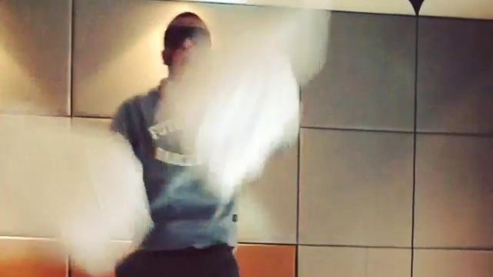El ball d'Alves a Instagram