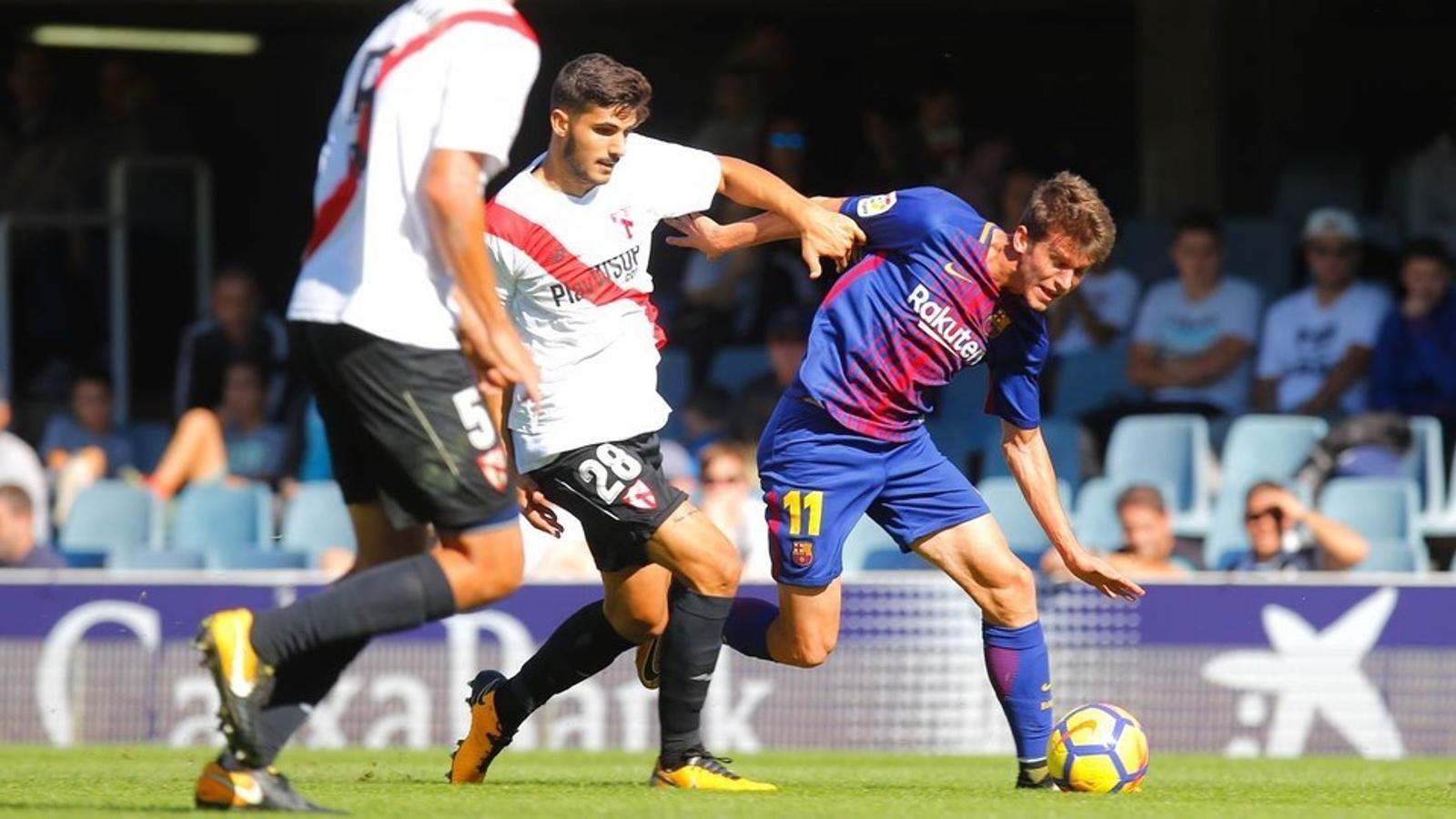 Marc Cardona, jugador del Barça B, en una imatge d'arxiu