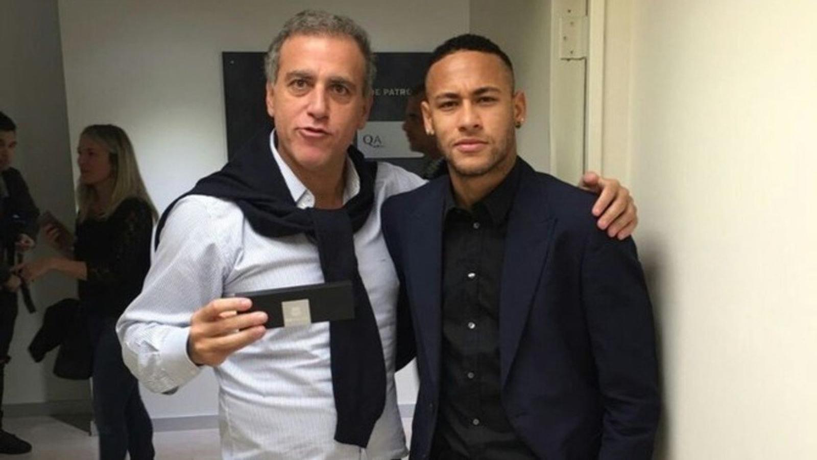 El Barça prescindeix d'André Cury, figura clau en el fitxatge de Neymar