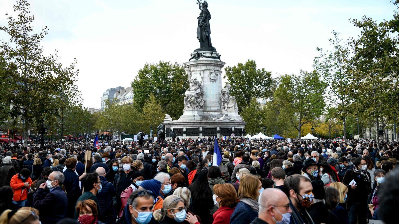 Manifestació a París
