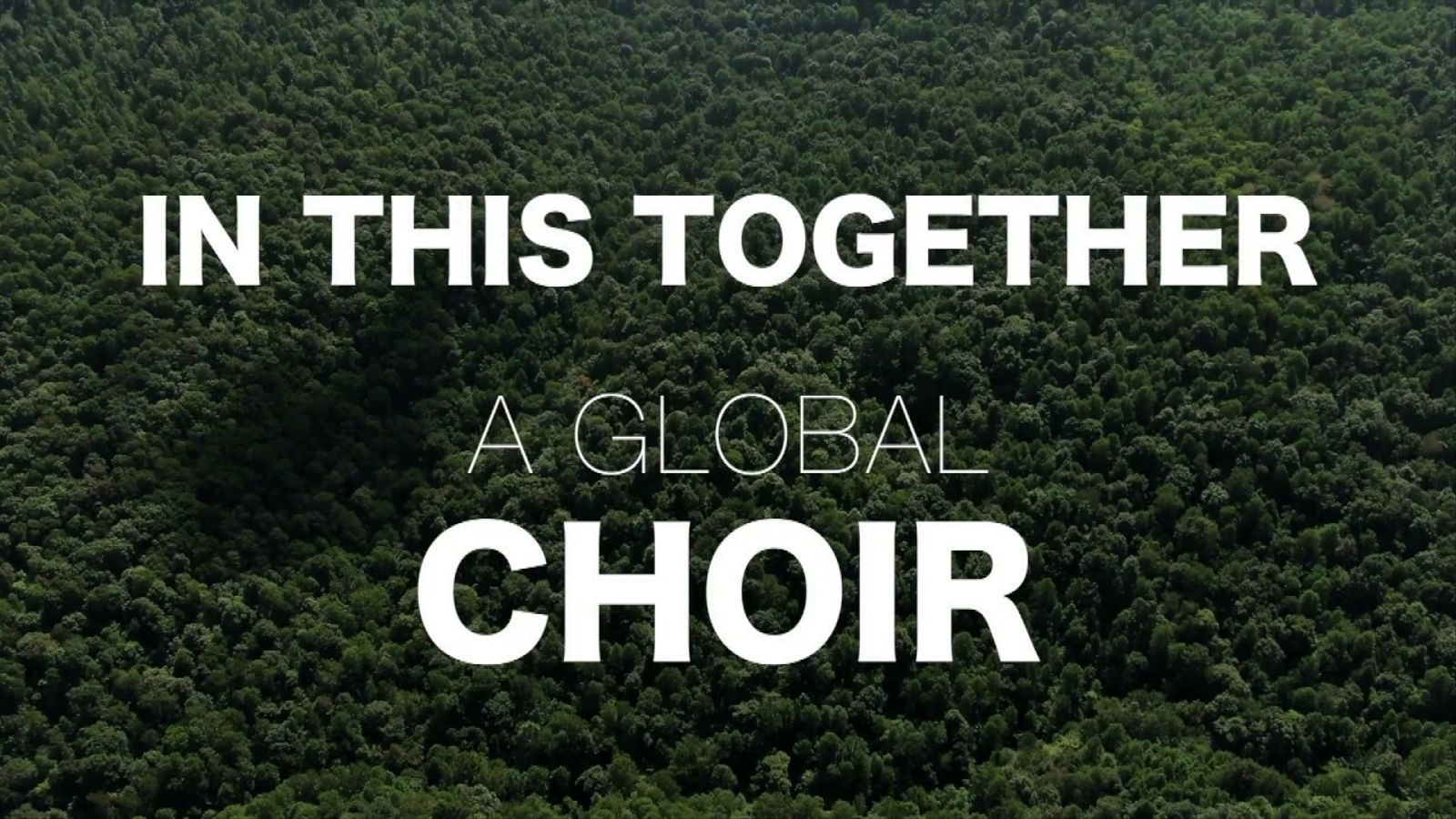 In This Together  Choir, A call to all singers!