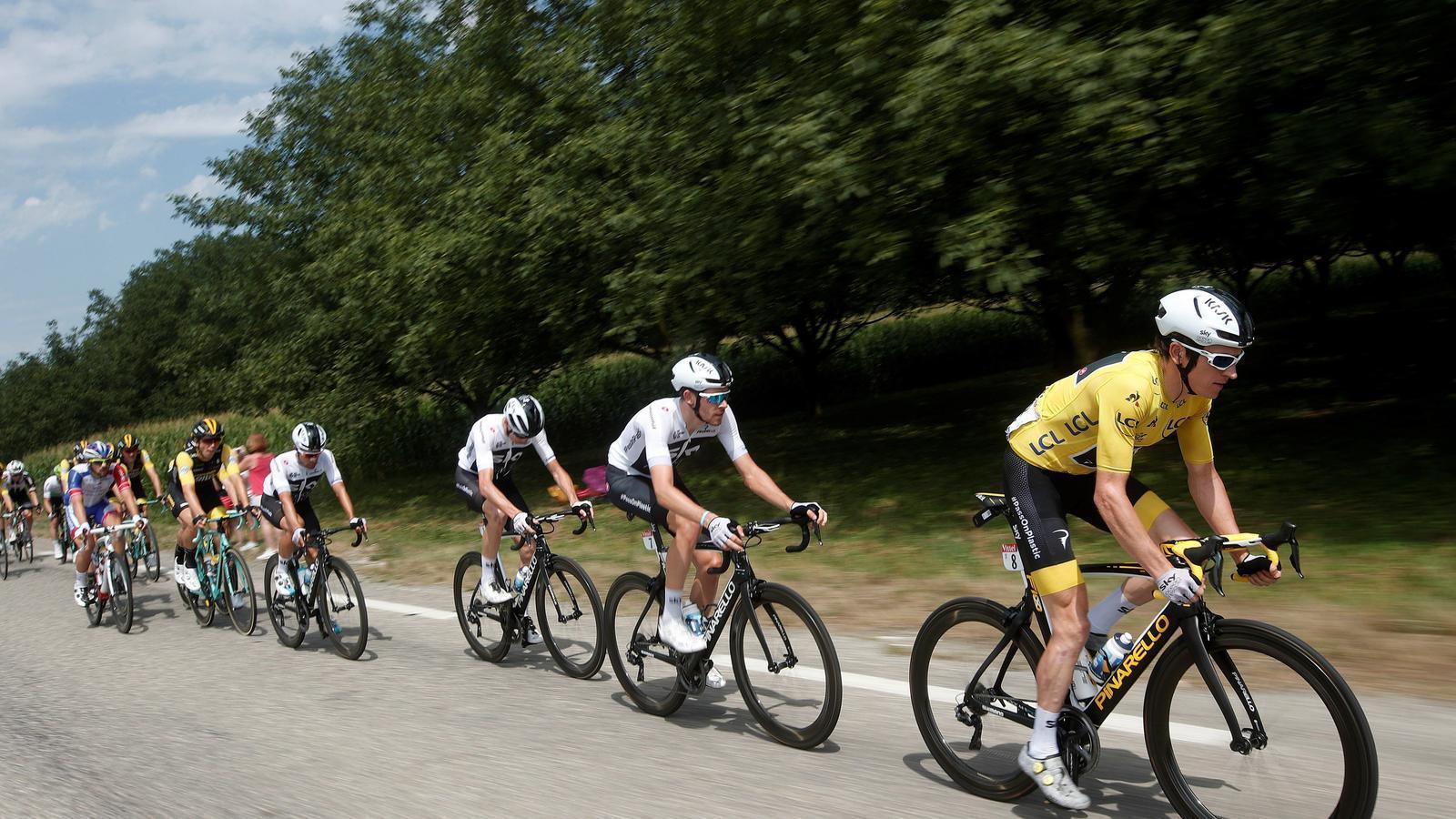 Thomas i l'Sky mantenen el lideratge del Tour