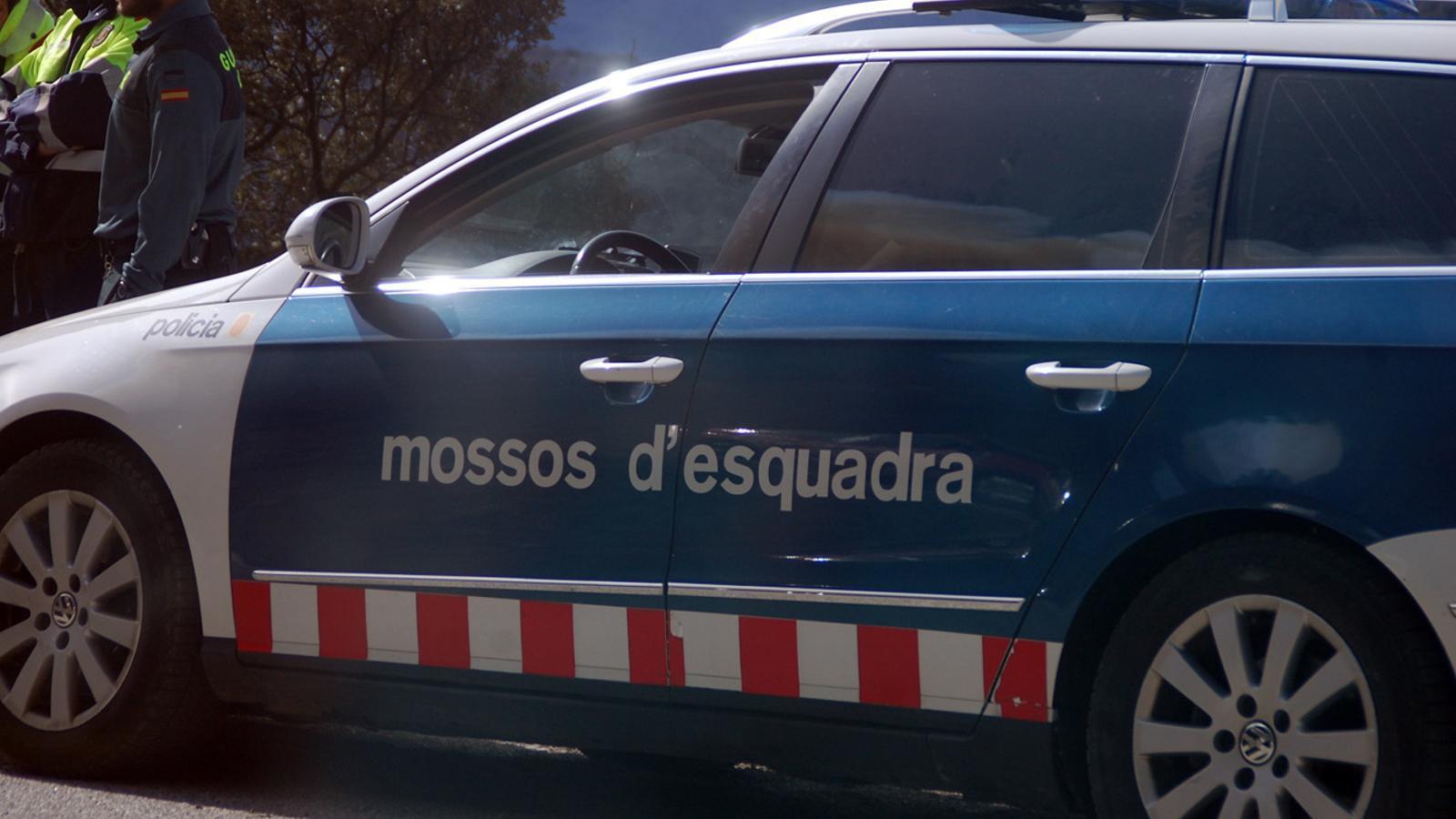 Una patrulla dels Mossos d'Esquadra. / ARXIU ANA