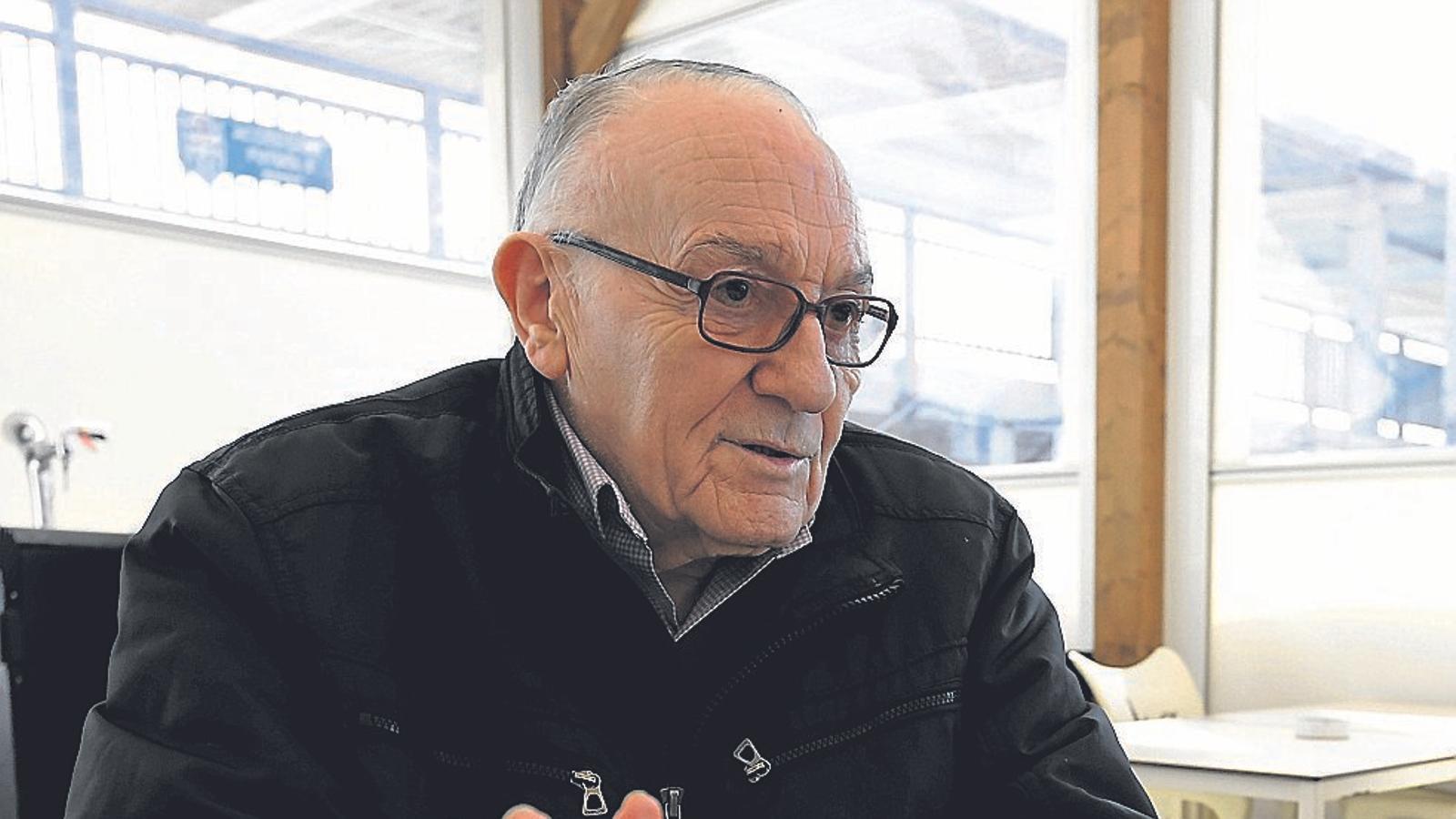 """Antoni Salas Fuster: """"Darrere de l'Atlètic Balears  Hi ha una història de supervivència"""""""