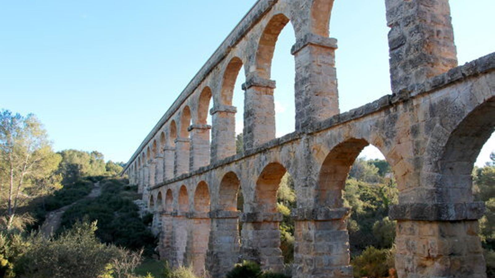 L'aqueducte de les Ferreres, a Tarragona, conegut com el Pont del Diable