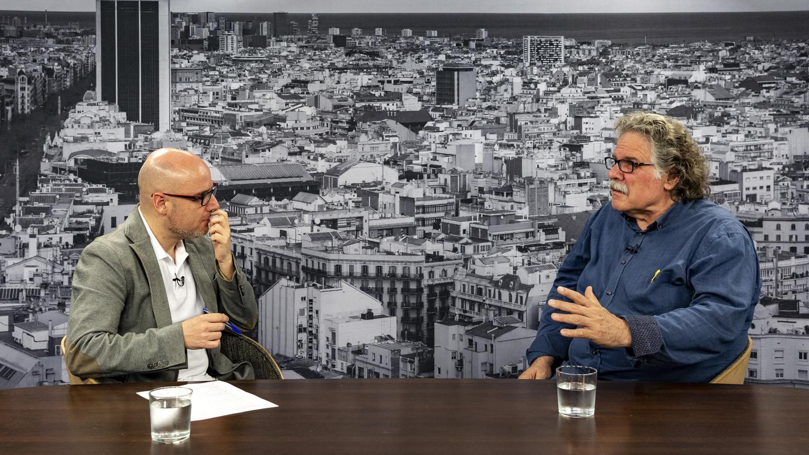 Entrevista de David Miró a Joan Tardà