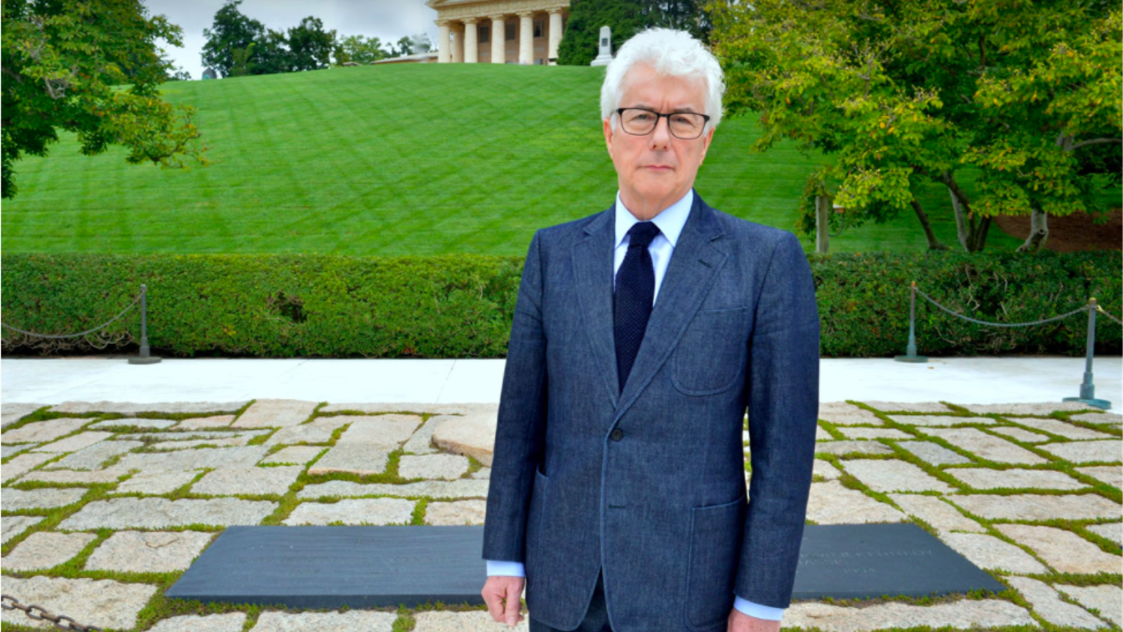 Imatge d'arxiu de ken Follet, durant una visita a Washington, l'any 2014