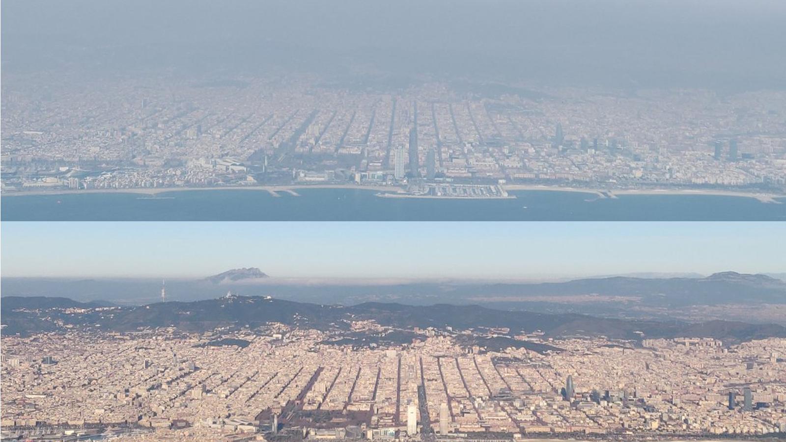 Barcelona, antes y después del anticiclón