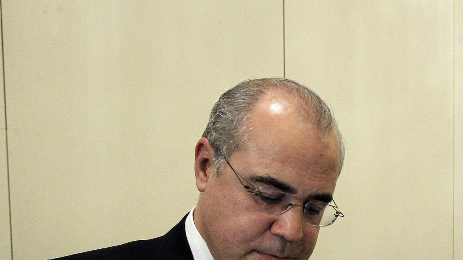 El jutge del Tribunal Suprem Pablo Llarena, en una imatge d'arxiu.