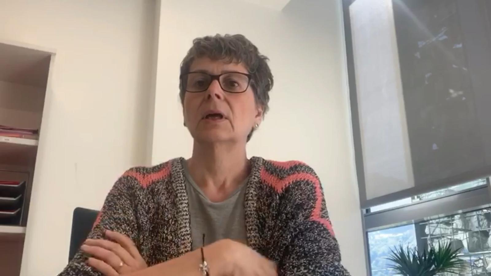 La president del PS i consellera del grup parlamentari socialdemòcrata Susanna Vela defensa el sector cultural