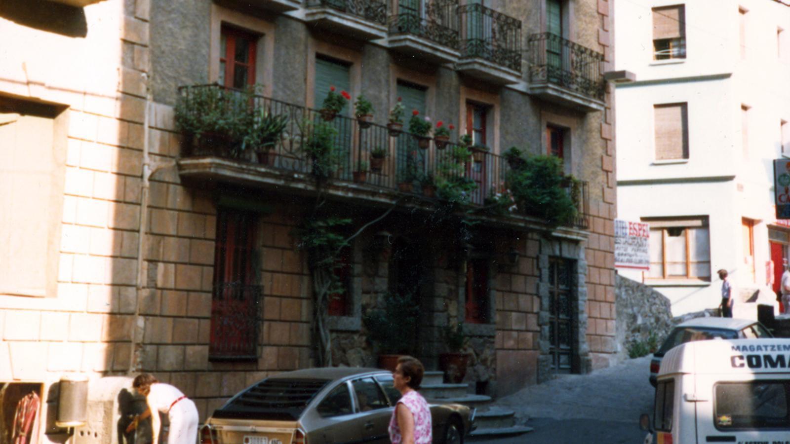 L'hotel Pla, un dels primers hotels de la parròquia que va tenir balneari (finals segle XIX). / COMÚ D'ESCALDES-ENGORDANY