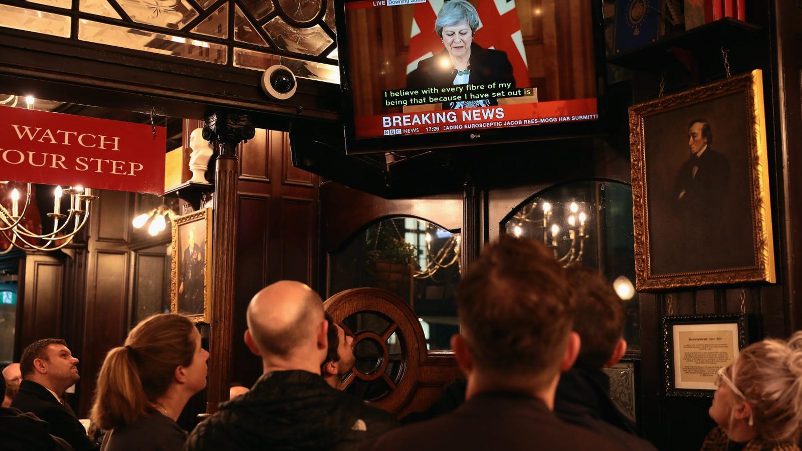 Caos a Westminster