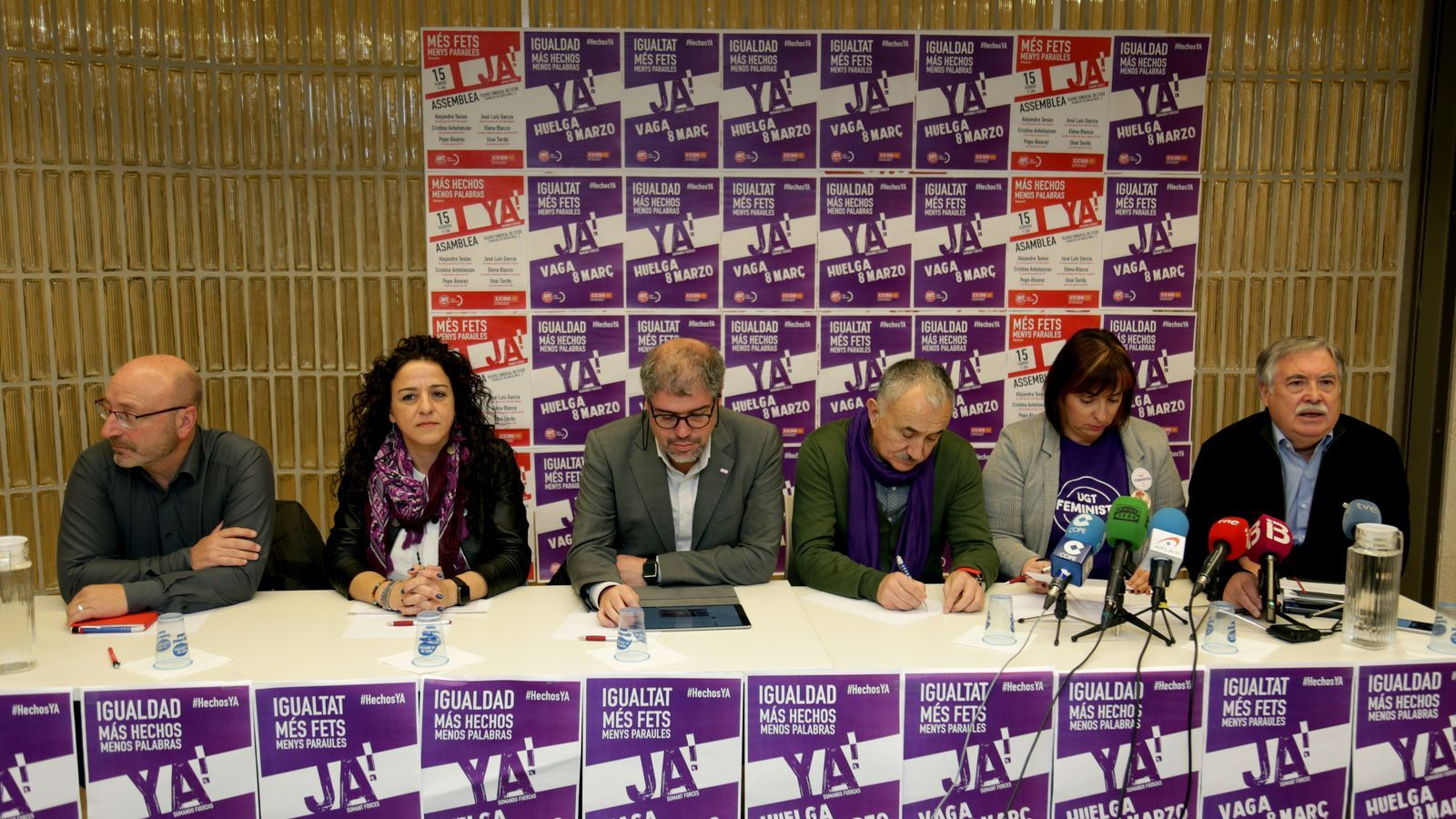 Els sindicats reclamen al Govern estatal aprovar les modificacions de la reforma laboral via Decret Llei