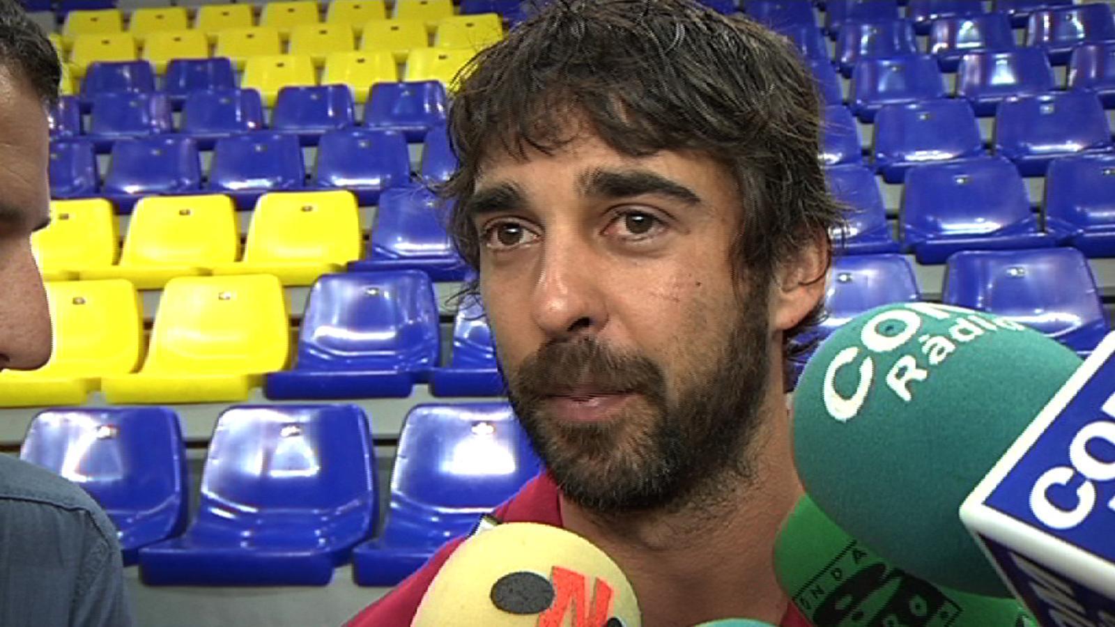Especial 'final four'. Joan Carles Navarro: No pensem en el CSKA, de moment ens centrem en l'Olympiacos