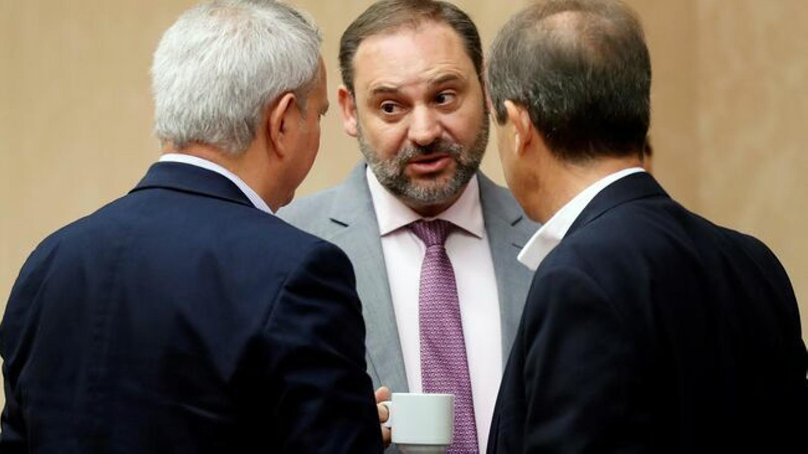 "Ábalos adverteix el Govern: ""No acceptarem cap tipus de desobediència"""