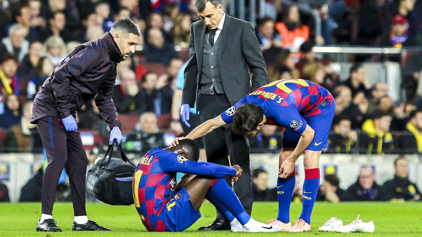 Dembélé, el fitxatge de 140 milions que encadena tres temporades de lesions