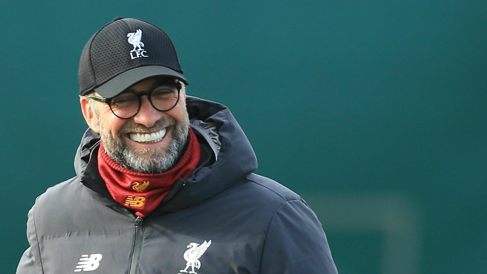 Jürgen Klopp no perd el somriure