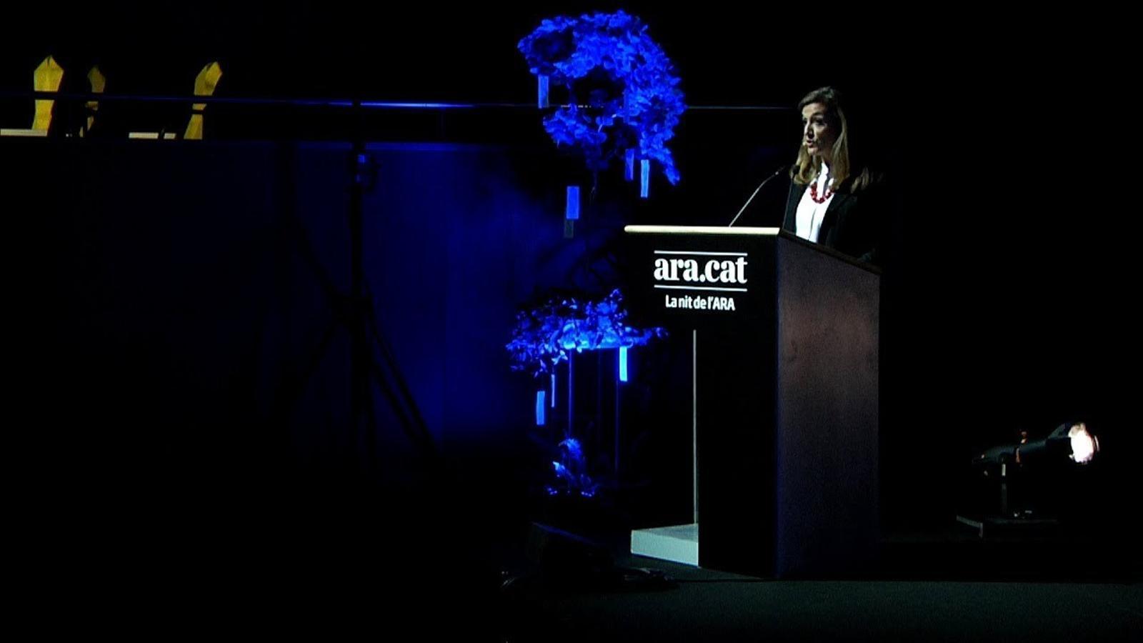 El discurs de la directora de l'ARA, Esther Vera
