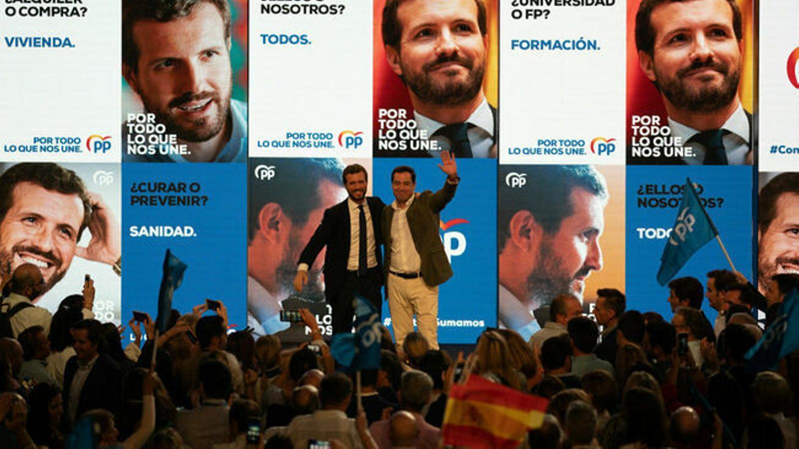 Casado es modera amb l'objectiu de ser l'alternativa al PSOE