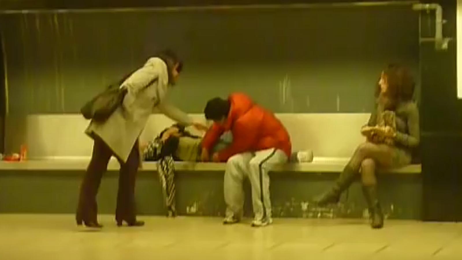 Persegueixen un lladre al metro