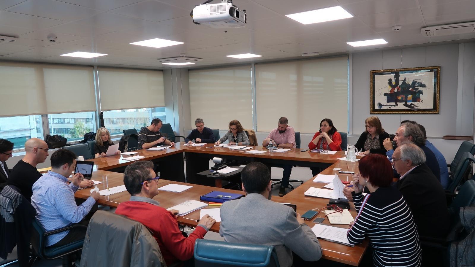 Reunió dels Directors de centre i dels responsables de la conselleria d'Educació per tractar sobre les retallades dels romanents