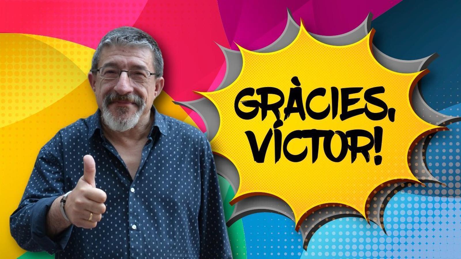 'La primera hora' ha homenatjat Víctor Ollé amb motiu de la seva prejubilació