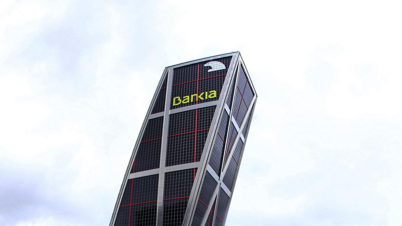 La seu de Bankia, a Madrid. / ZIPI / EFE
