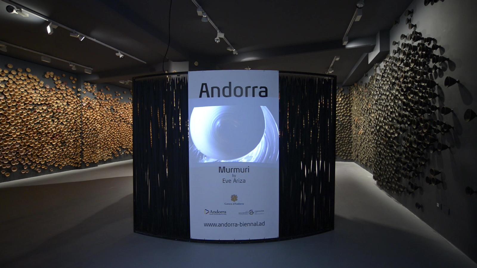 Inauguració del pavelló d'Andorra a la Biennal de Venècia