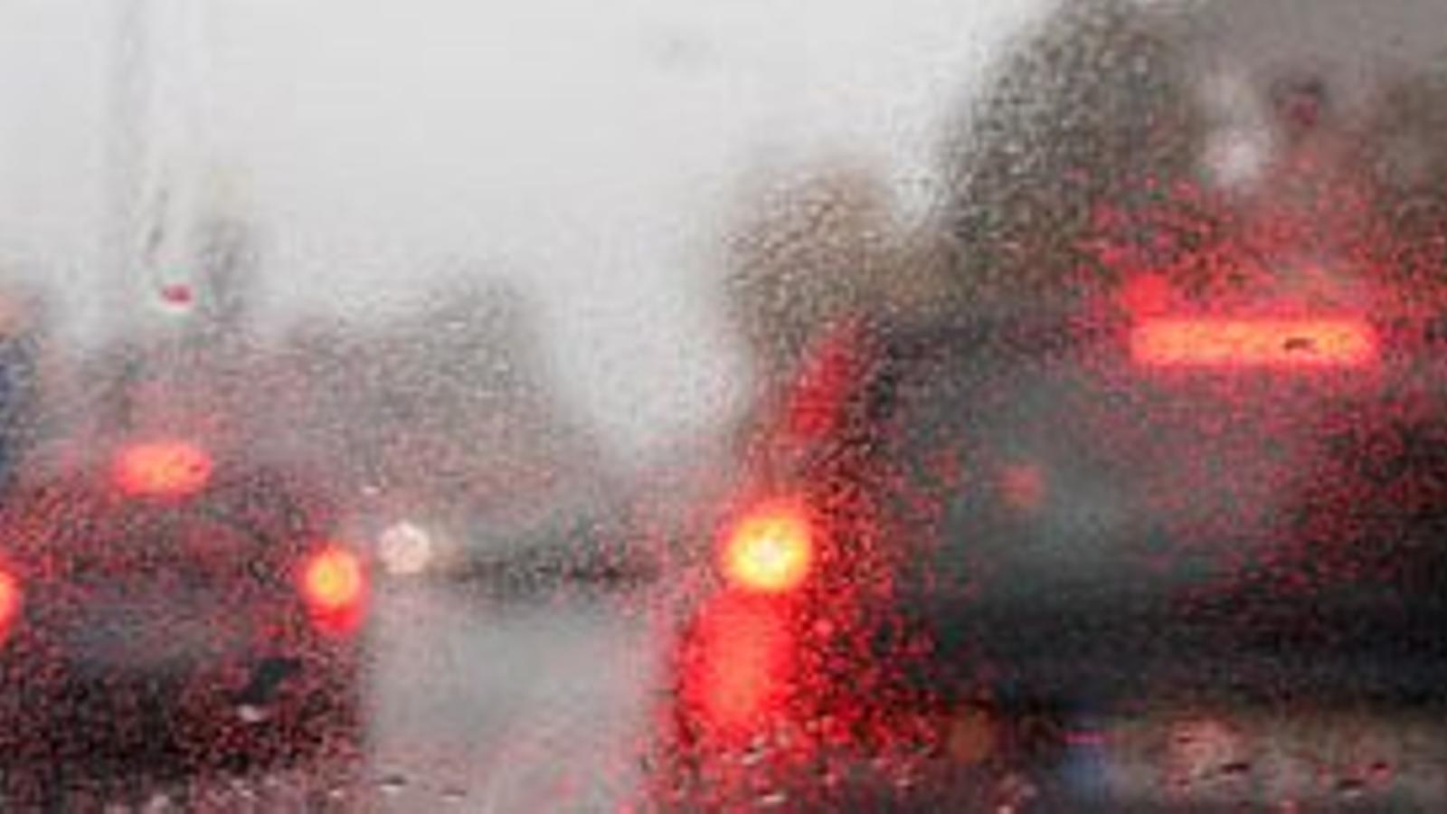 Temporal de vent i pluja a les Balears