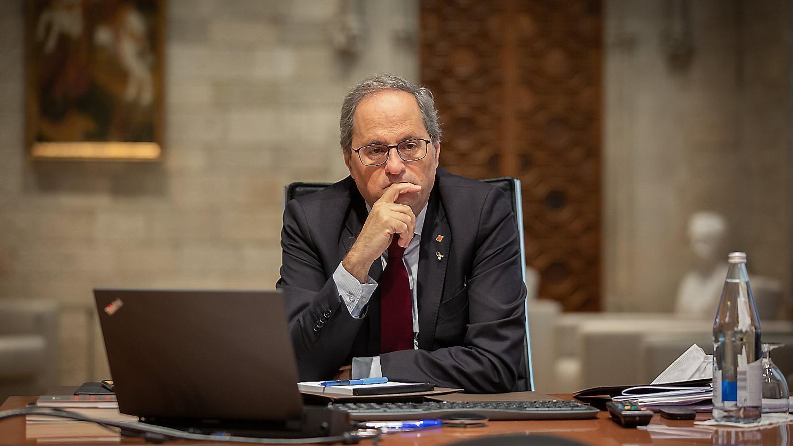 L'informe jurídic no apaivaga els recels entre JxCat i ERC
