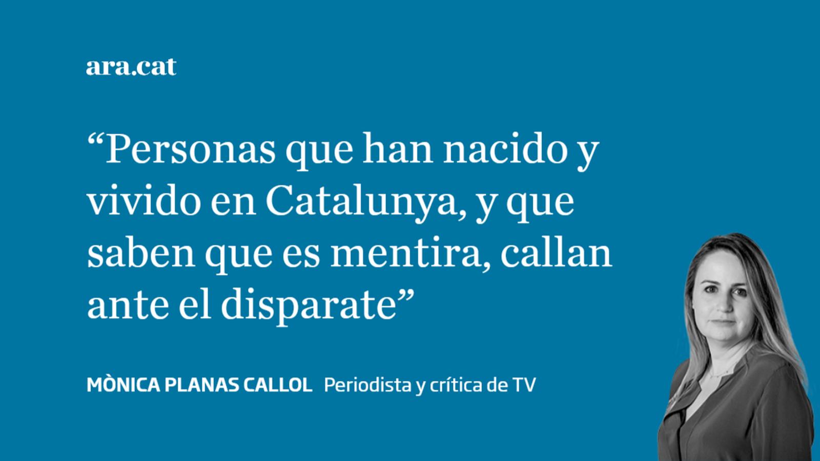Las mentiras del catalán y los que callan