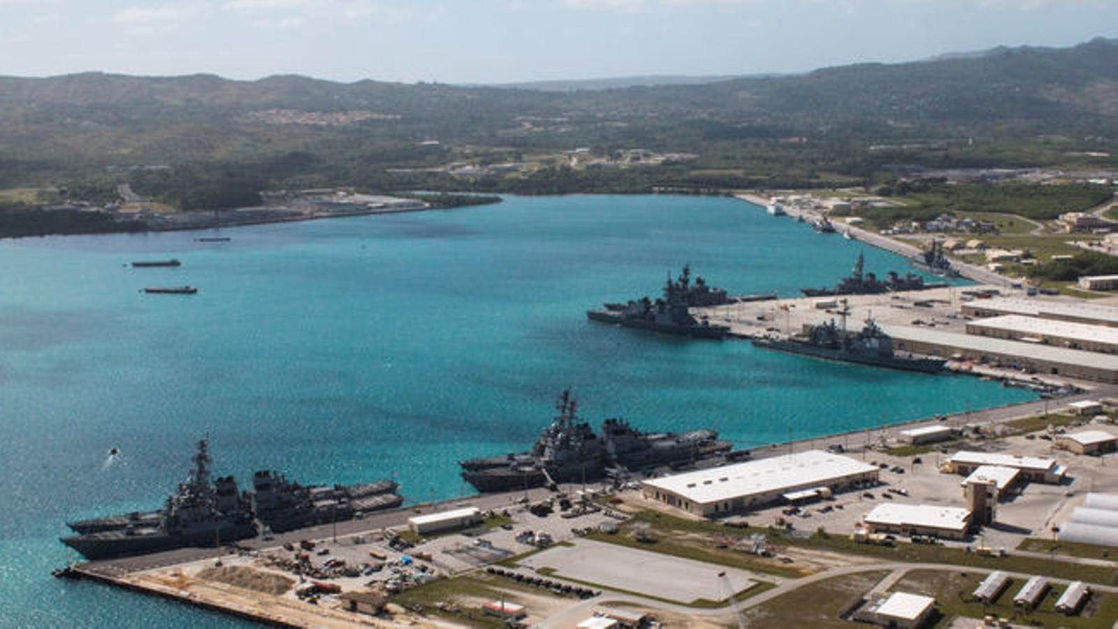 Guam, la petita diana americana cap on apunta Kim Jong-un