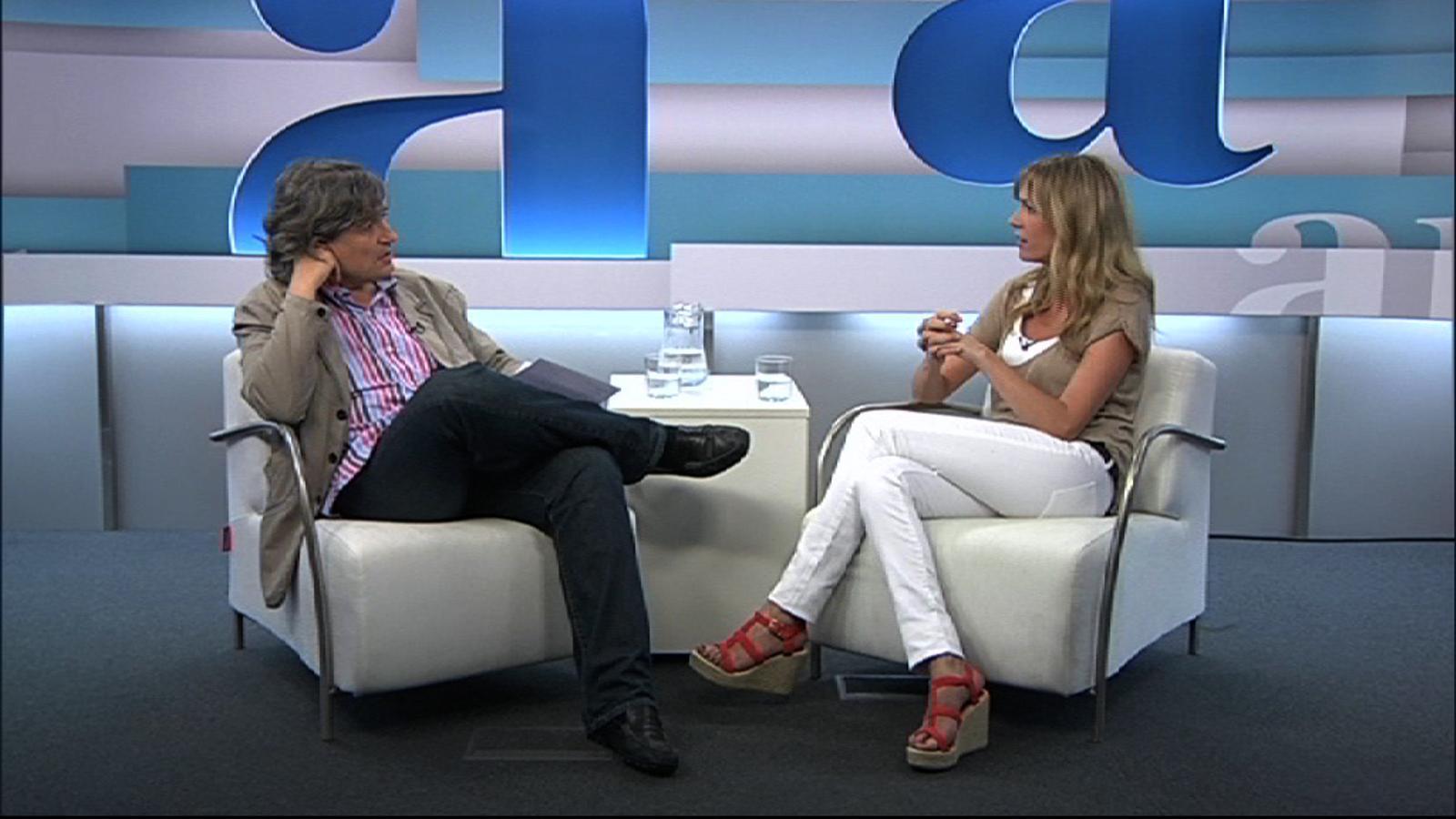 Entrevista de Carles Capdevila a Anna Simon, per l'Ara TV Premium