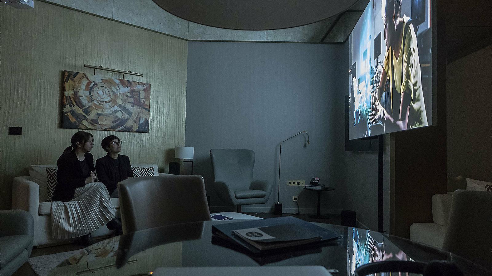 A la Fira Loop les galeries exposen dins les habitacions de l'Hotel Almanac Barcelona.