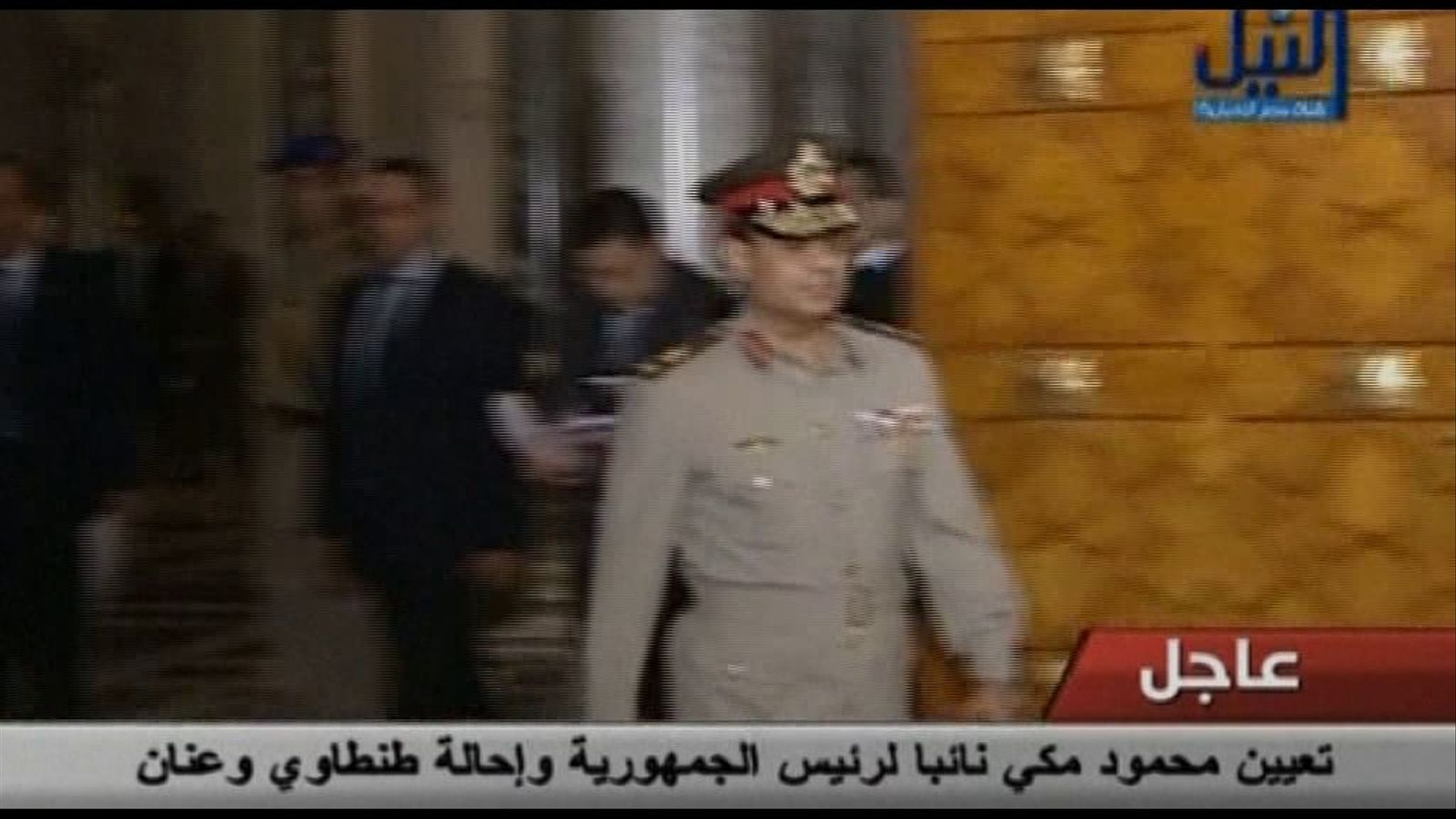 Cop d'efecte de Morsi a Egipte