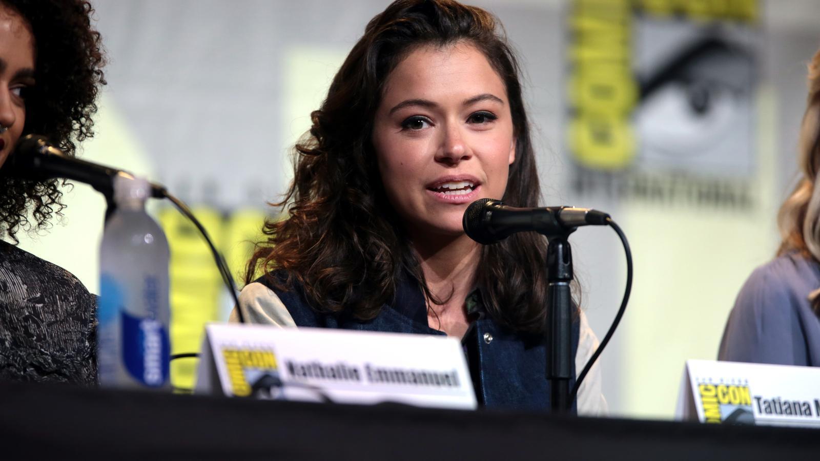Tatiana Maslany en una edició de la Comic-Con de San Diego