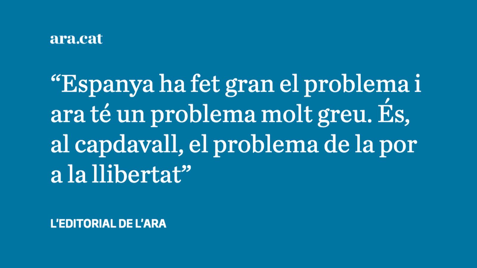 Fins quan hi haurà presos polítics a Espanya?