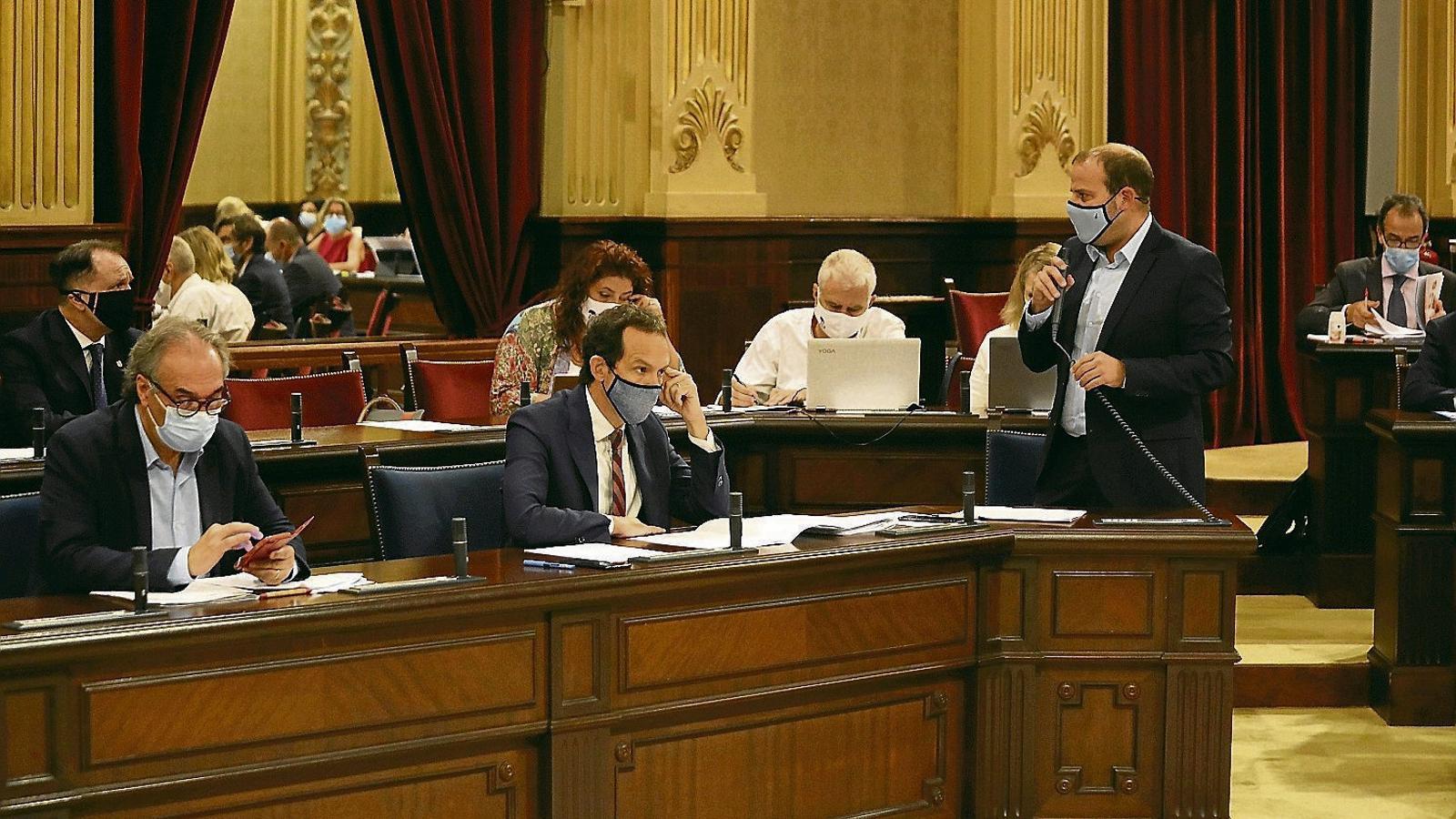 MÉS per Mallorca es queda sol                  defensant el cordó sanitari contra Vox