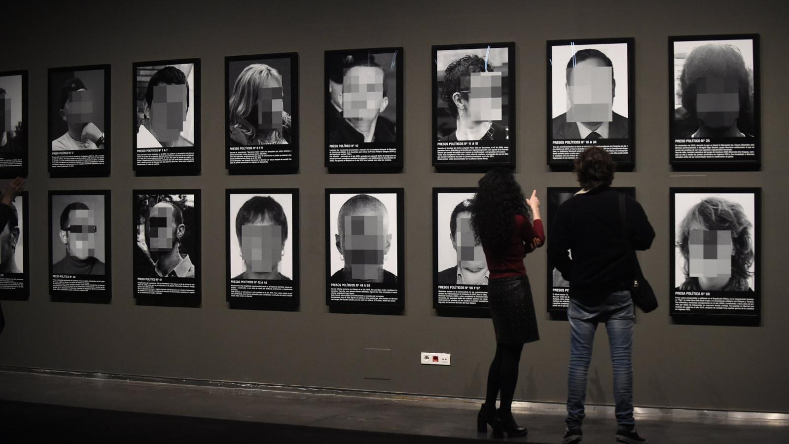 L'obra de Sierra censurada a ARCO arriba al CCCB