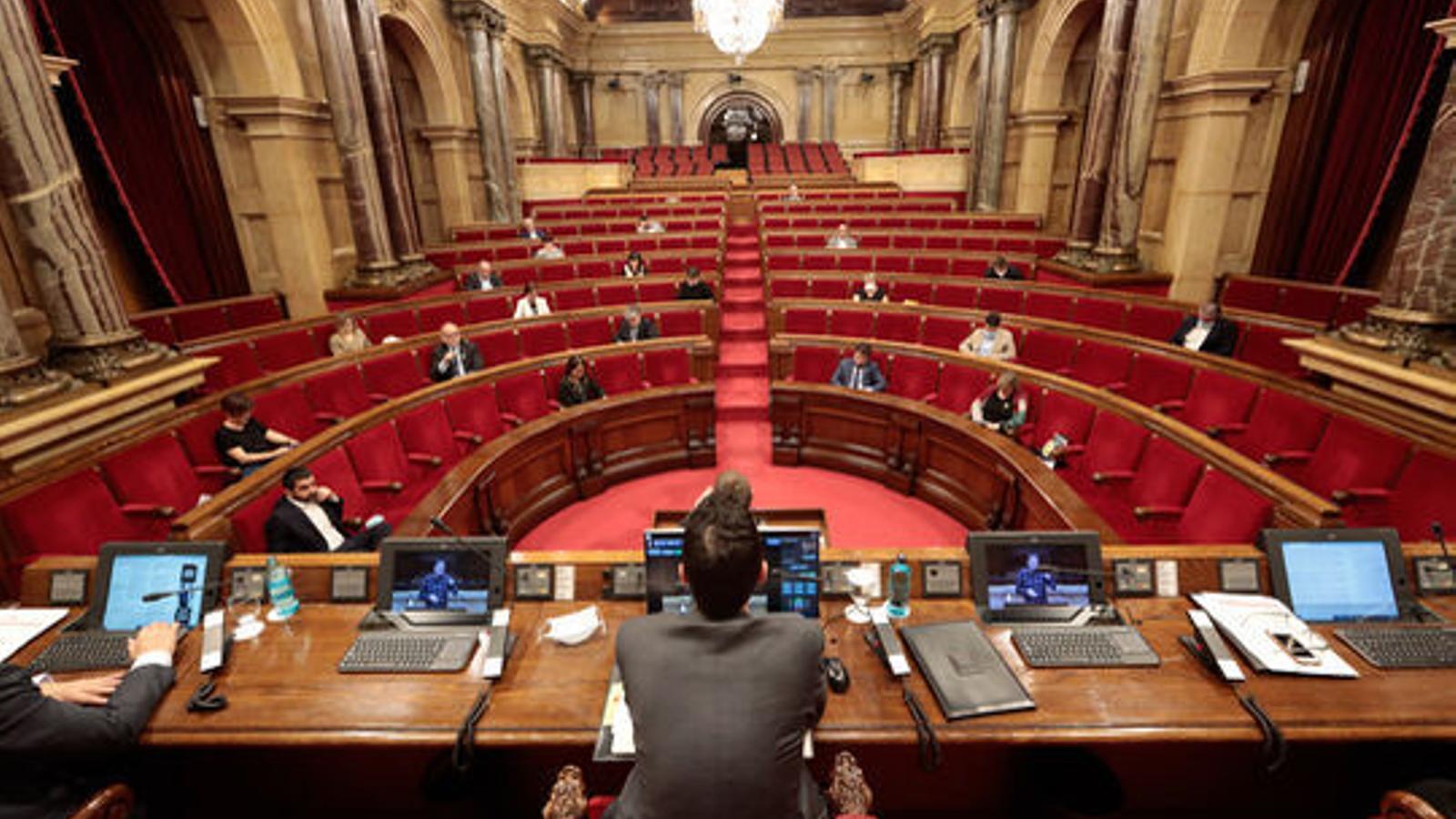 EN DIRECTE | El Parlament debat la llei de regulació dels lloguers