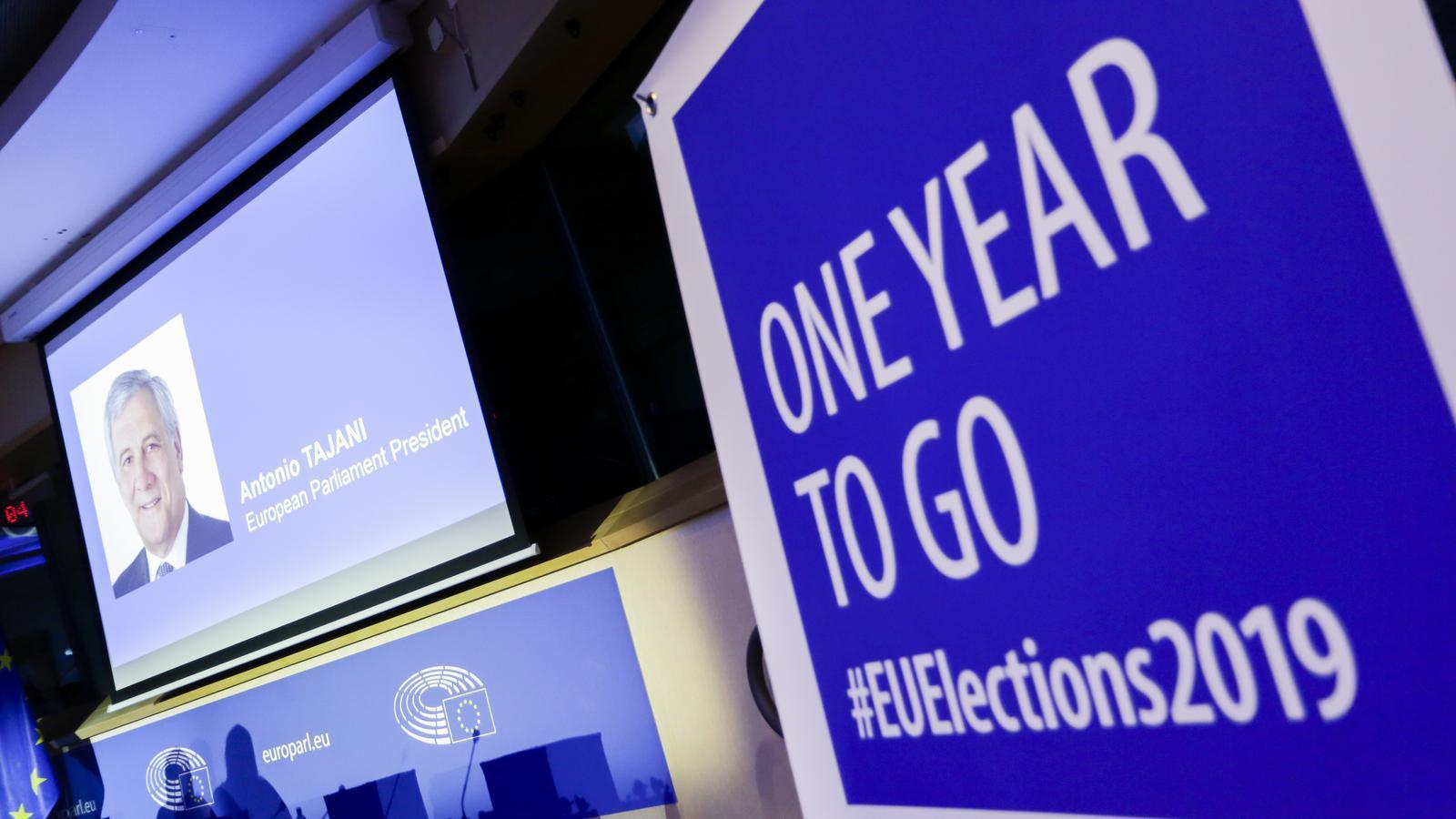 El maig del 2019 se celebraran les eleccions europees